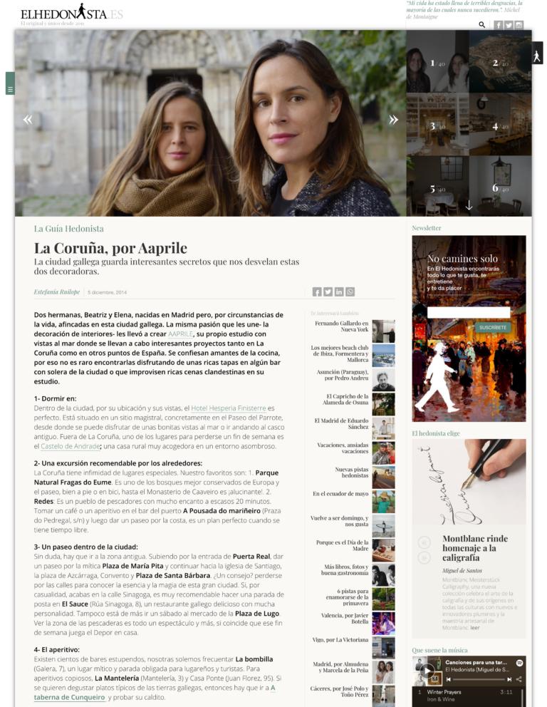 La coruna, por Aaprile - El Hedonista - elhedonista.es