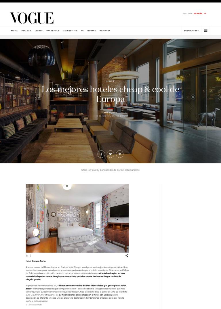 hoteles cheap & chic por las capitales europeas - Vogue espana - www.vogue.es 1