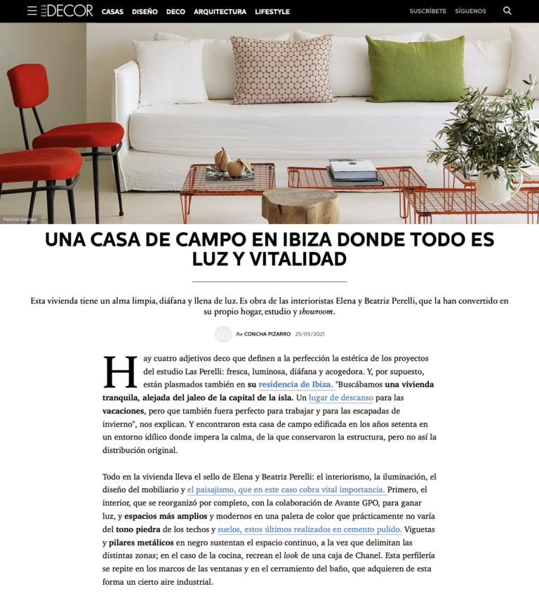 Las Perelli_Elle decor_2021